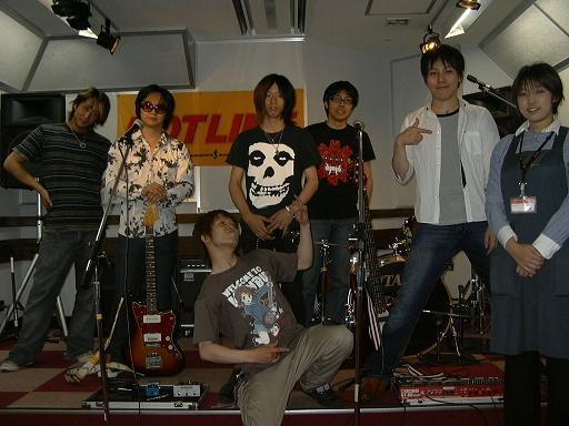 参加バンドのT.S.Dと虚空式