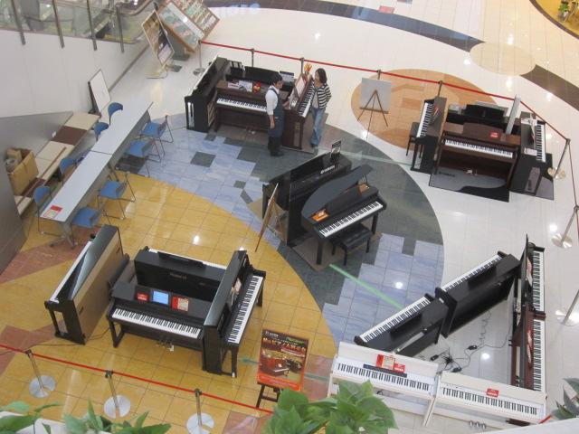 秋のピアノ大展示会画像②