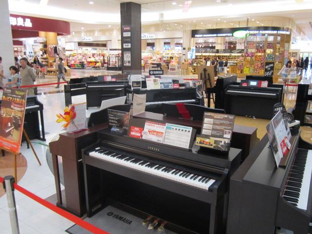秋のピアノ大展示会画像⑤