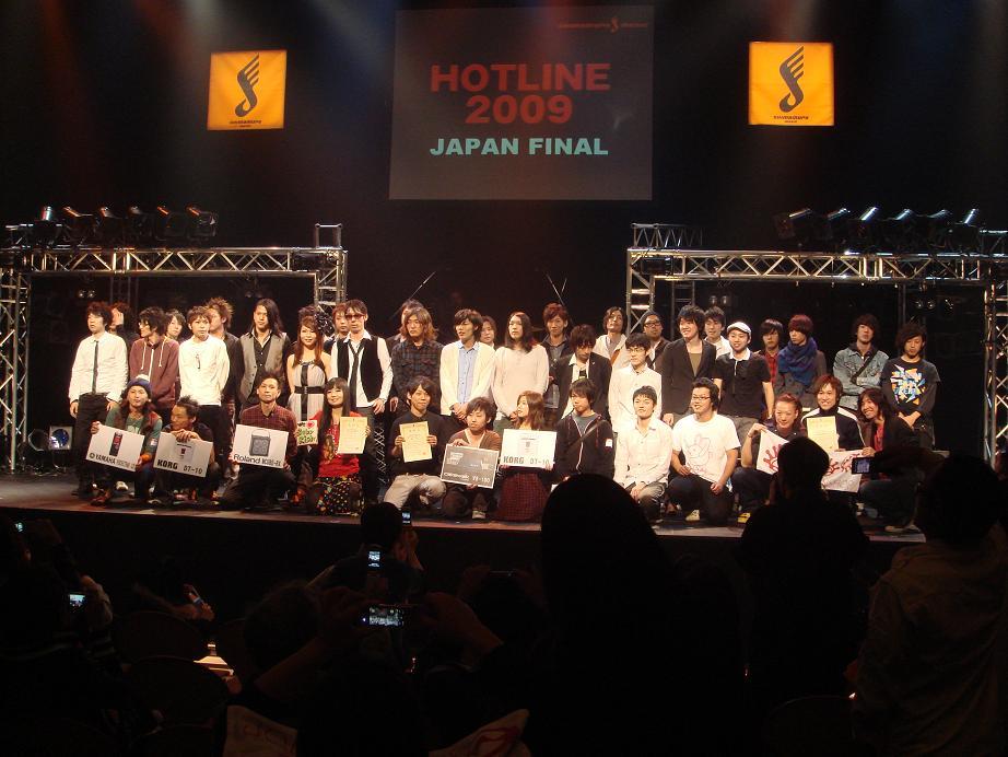 nullHOTLINE2009 JAPANFINAL