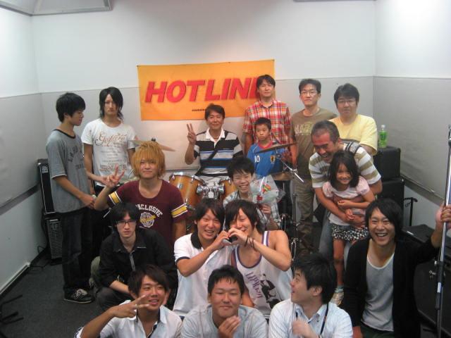 HOTLINE2010集合写真8月29日