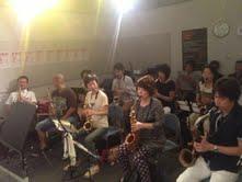 島村楽器イオンモール神戸北店 藤野美由紀サックスワークショップ参加者の様子1
