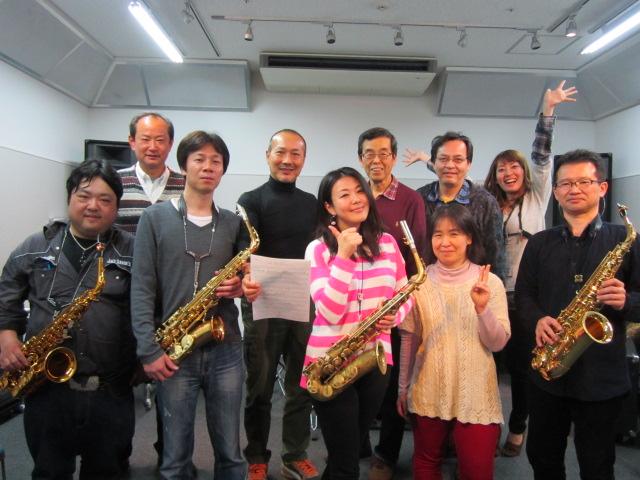 藤野美由紀さんのサックスセミナーを開催!