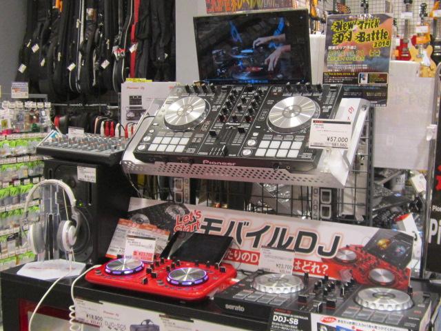 NEW TRIC DJ BATTLE 2014高崎 島村楽器高崎 DJバトル DJ IKU