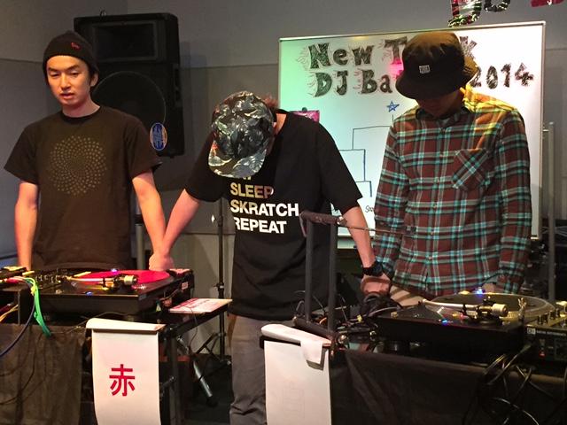 DJ 島村楽器 New Trick DJ Battle2014 群馬 DJ KUSSY DJ samu DJ IKU