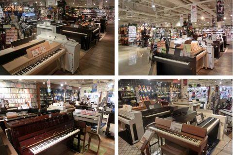 ピアノ売場