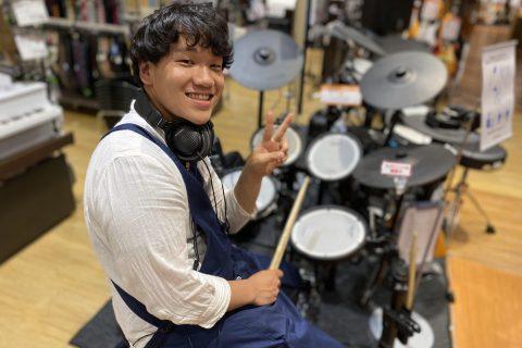 スタッフ写真ドラム・ドラムアクセサリー杉田