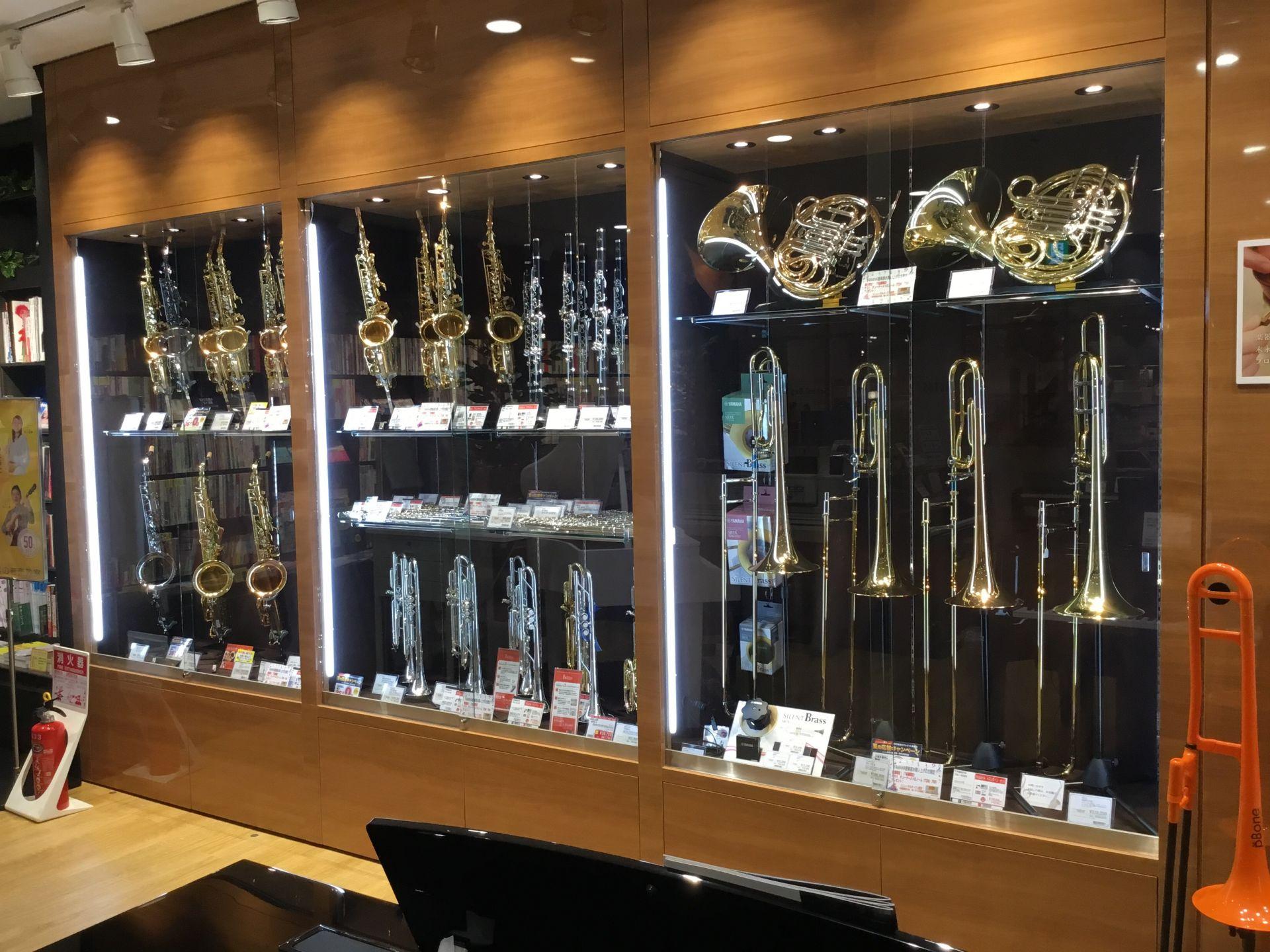 あべの店 管楽器売り場