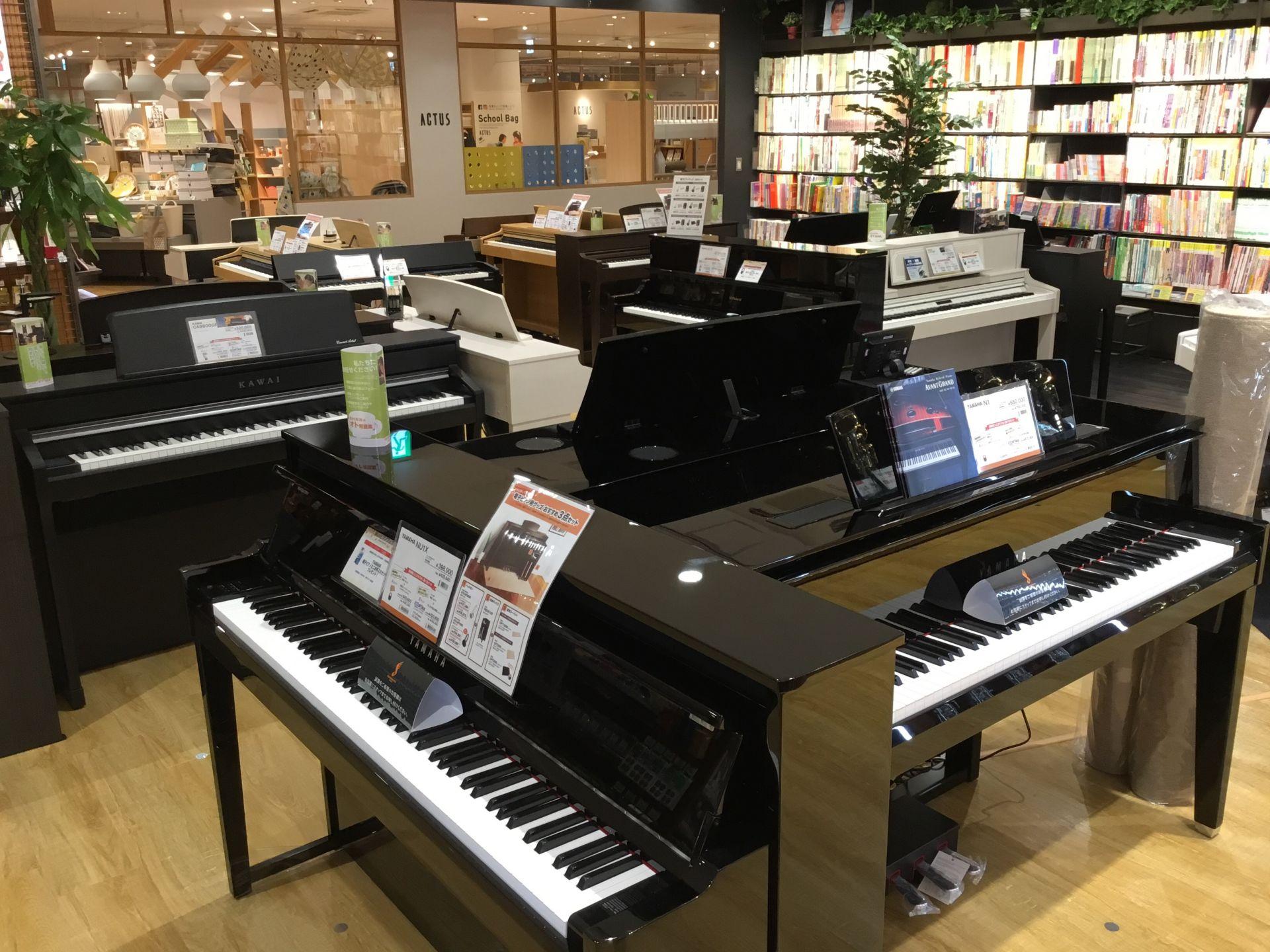 電子ピアノ売場