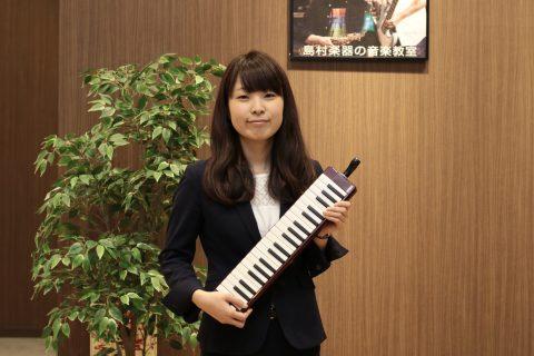 スタッフ写真ピアノインストラクター吉田