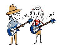 子供のギター レッスン