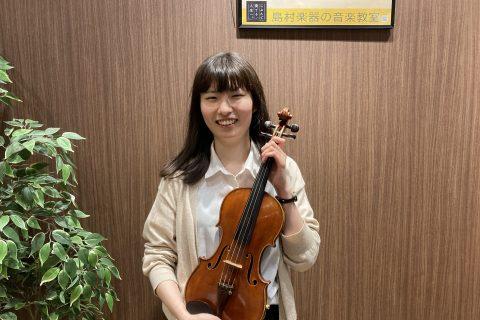 スタッフ写真ヴァイオリンインストラクター木村