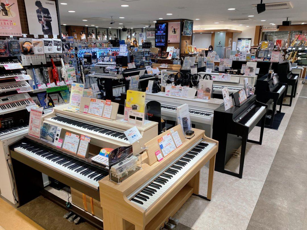 島村楽器赤羽アピレ店 電子ピアノ ピアノ ステージピアノ