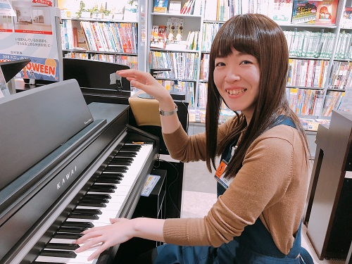 島村楽器赤羽アピレ店 ピアノ担当 鵜沼