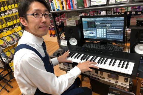 スタッフ写真アコースティックギター・ウクレレ・シンセサイザー・DTM武田
