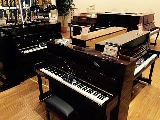 島村楽器セブンパークアリオ柏店アップライトピアノ