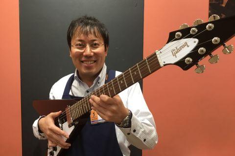 スタッフ写真アコースティックギター・ドラム・シンセサイザー・DTM・音楽教室山口