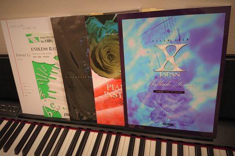 X JAPANピアノ譜