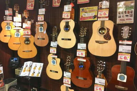 クラシックギター選びは旭川店へ