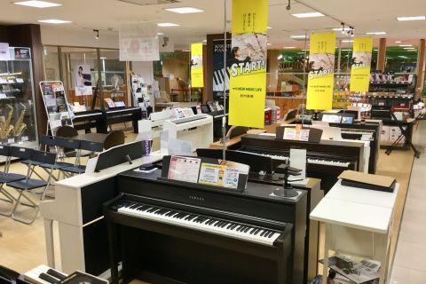 電子ピアノ選びはフィール旭川店へ