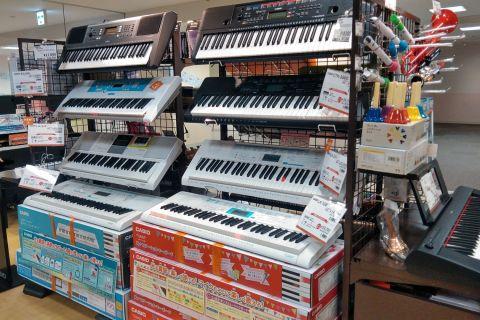 キーボード選びは旭川店へ!