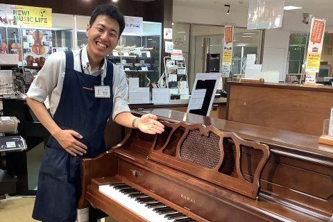 スタッフ写真電子ピアノ、ピアノ、キーボード間島