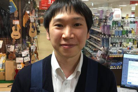 スタッフ写真【副店長】アコースティックギター・デジタル商品全般高森