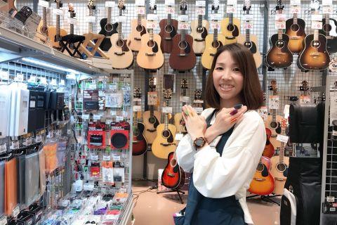 スタッフ写真ギターアクセサリー・音楽教室担当管原