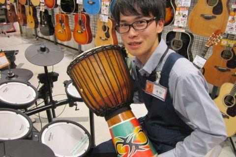 スタッフ写真ドラム、ドラムアクセサリー本田