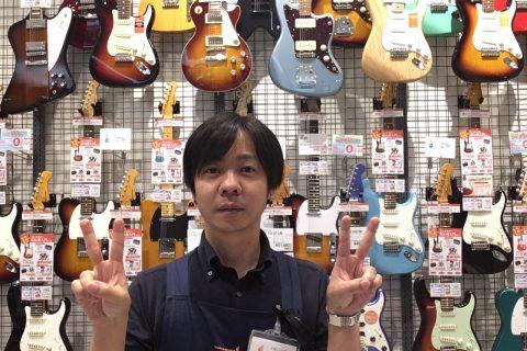 スタッフ写真ギター・ベース・ウクレレ・DTM高橋