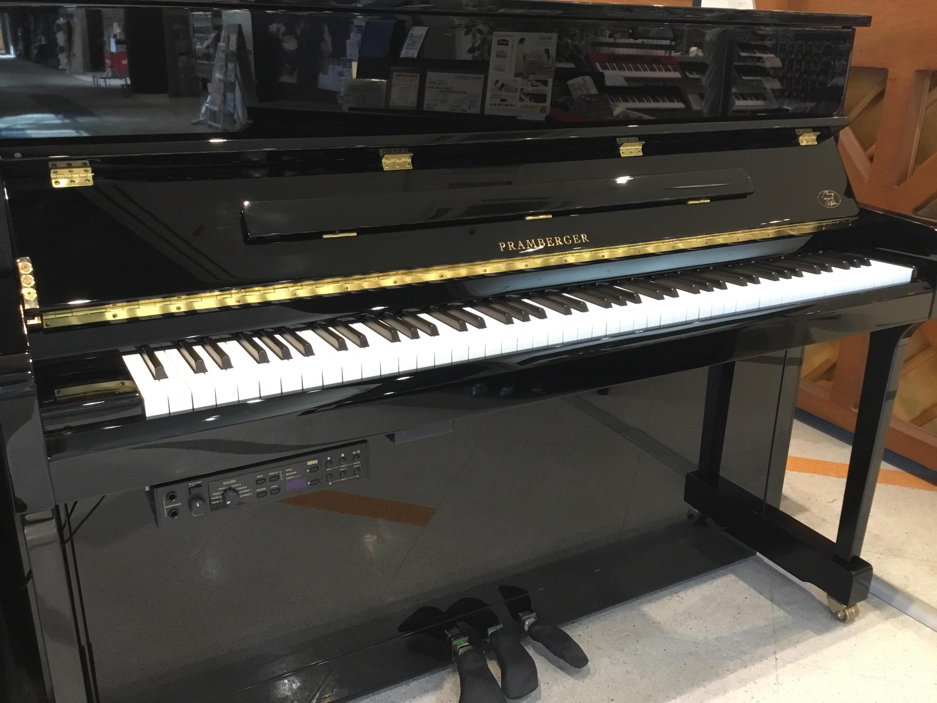 アップライトピアノ 新品 選び方 PRAMBERGER PV115 消音ユニット 千葉ニュータウン 印西 価格