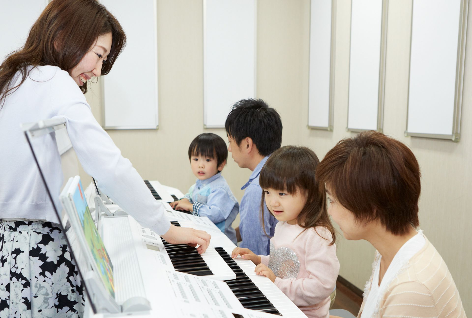 幼児科レッスン室風景