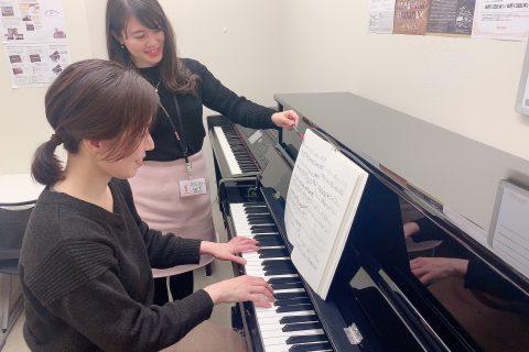 ピアノサロン入会受付中