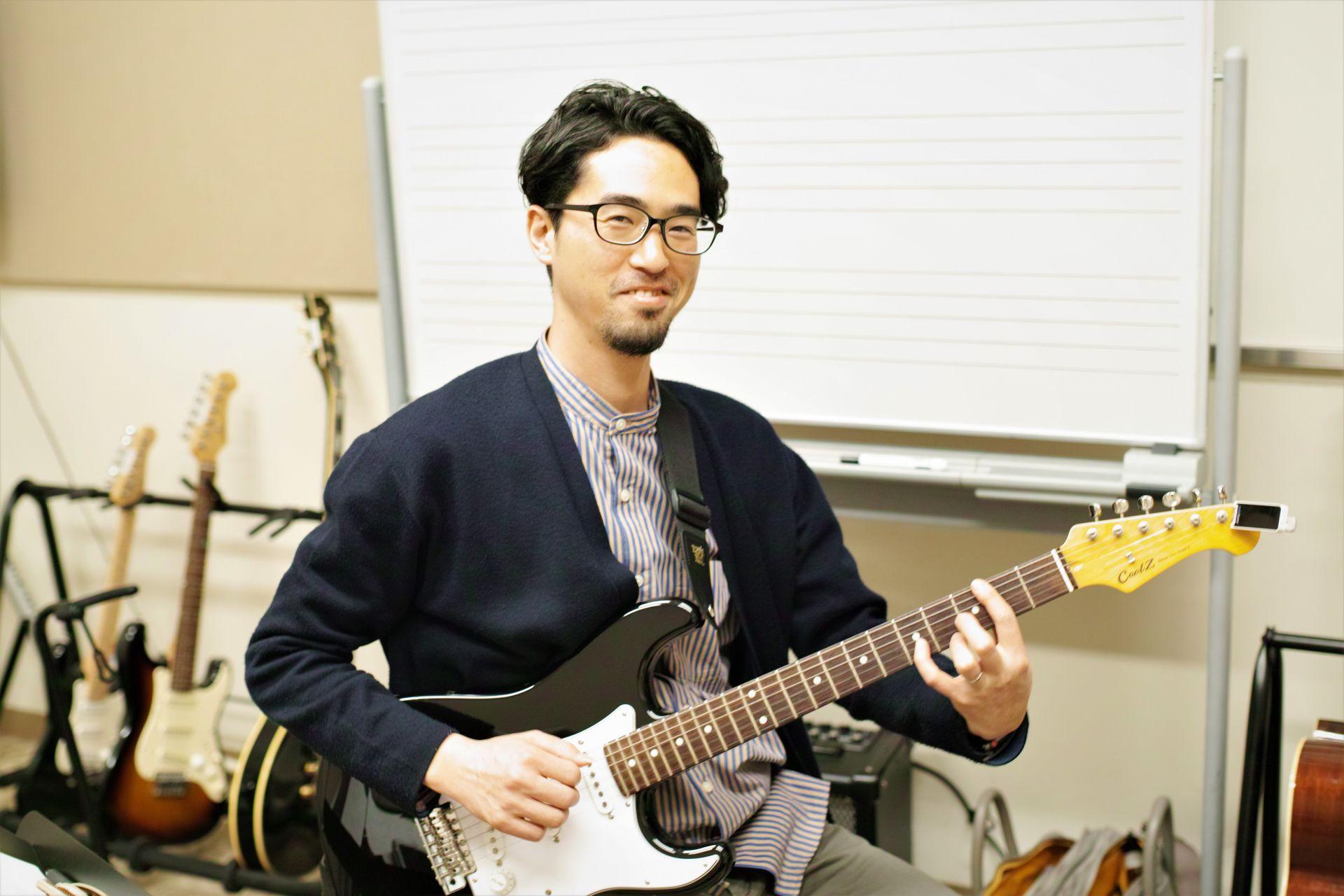 ギター科_藤田先生
