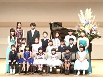 2017/10/09ピアノ・ヴァイオリン科発表会の様子1