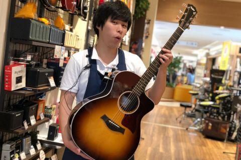 スタッフ写真アコースティックギター・アンプ・弦西山