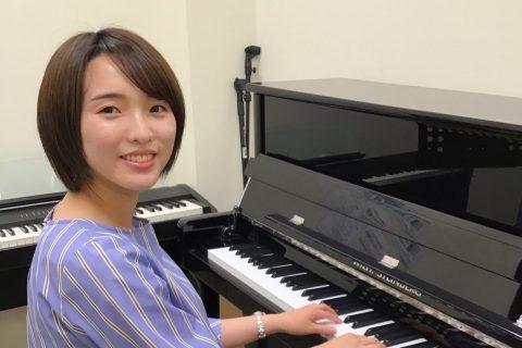 スタッフ写真ピアノインストラクター倉田