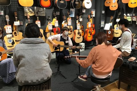 島村楽器ららぽーと富士見店 サークル ウクレレDAY ビギナーズ倶楽部