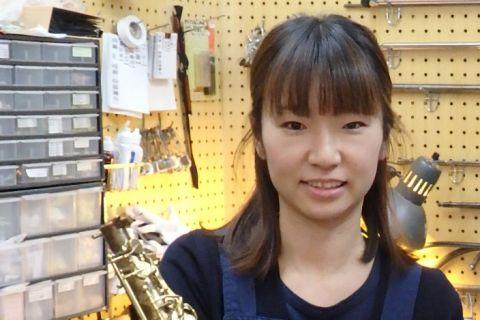 スタッフ写真管楽器リペア樋口