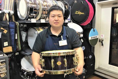 スタッフ写真エレキベース・ドラム・パーカッション全般坂田
