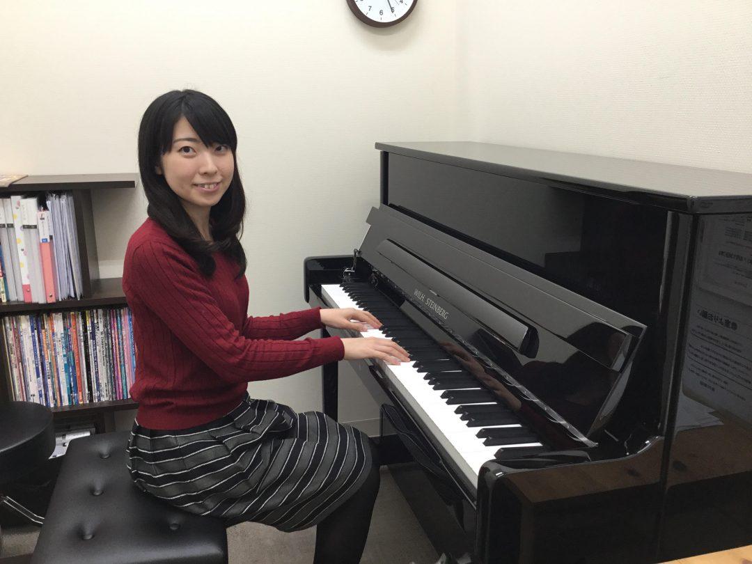 島村楽器 南船橋店 ピアノインストラクター 野坂彩恵