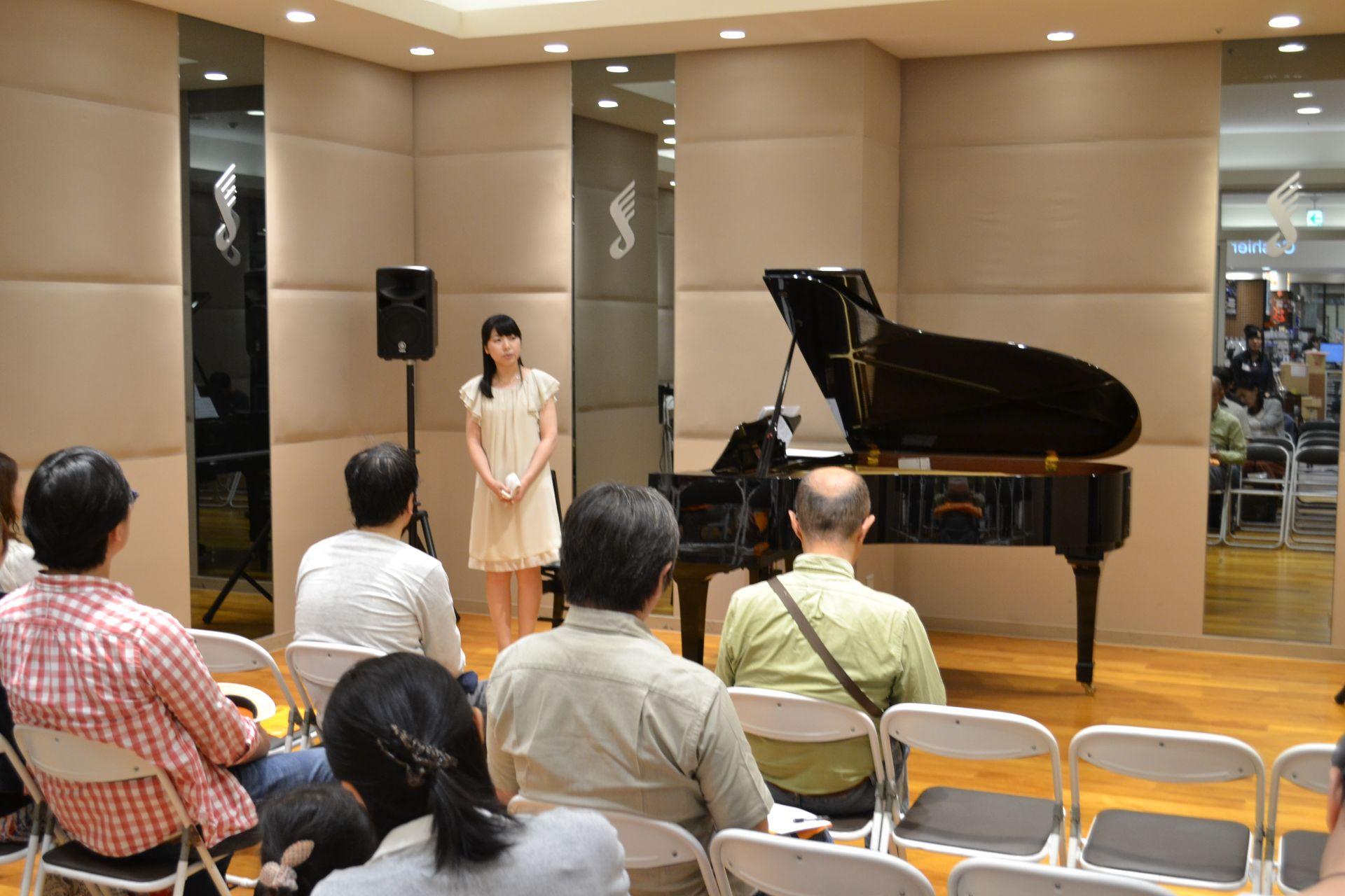 島村楽器 南船橋店 ピアノコンサート