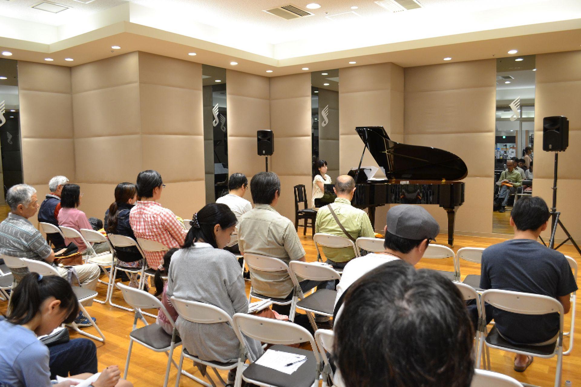 島村楽器 南船橋 ピアノコンサート