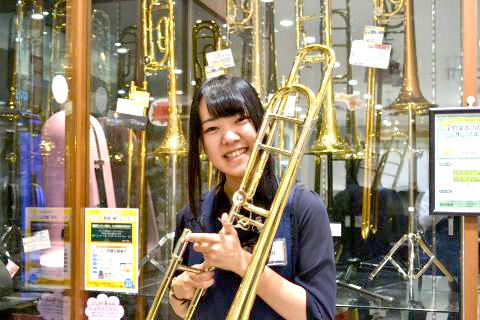 スタッフ写真管楽器アクセサリー、音楽教室浅井