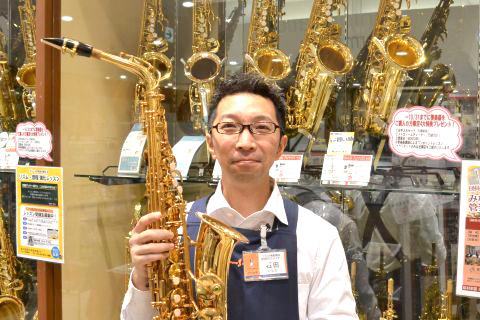 スタッフ写真管楽器、電子ピアノ、ドラム石田