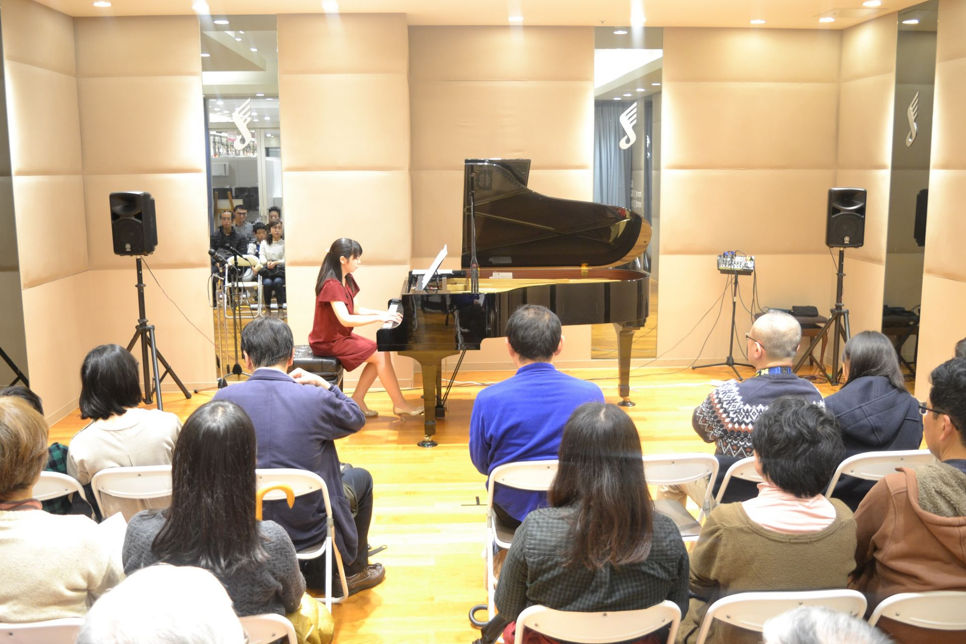 島村楽器 南船橋 クリスマス ピアノコンサート