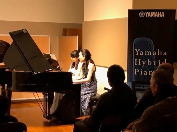 島村楽器 豊かな心を育む ピアノコンサート 連弾