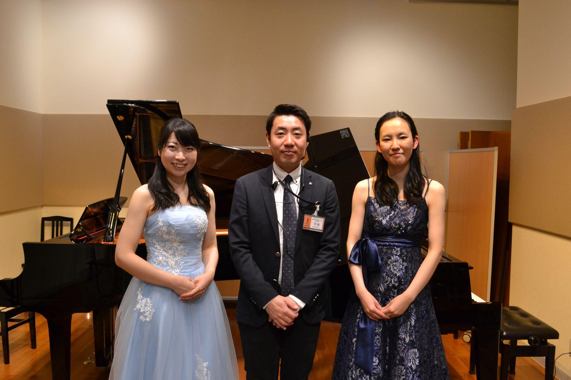島村楽器 豊かな心を育む ピアノコンサート 野坂