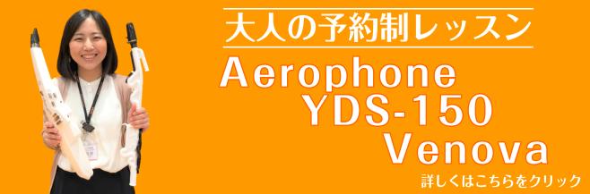 エアロフォン・YDS-150・ヴェノーヴァレッスン 初心者