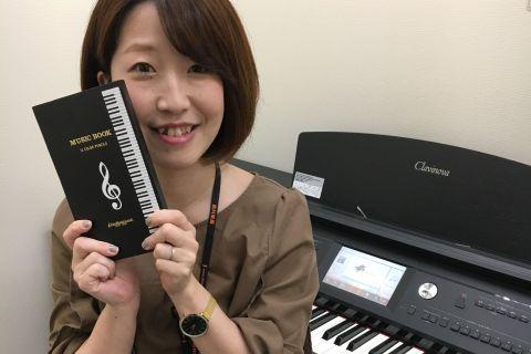 スタッフ写真ピアノインストラクター中山